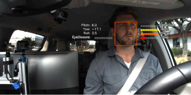 RENOVO社 注意散漫の検知結果と自動運転システムの連携のサムネイル
